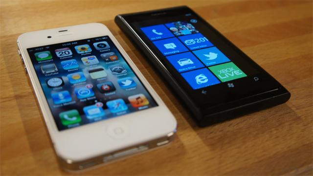 iOS Windows Phone