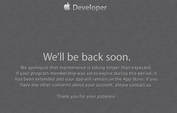 Developer Center Apple
