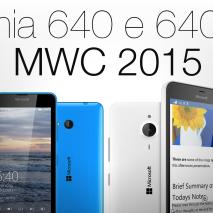 Come sapete in questi giorniTechEarthBlogè alMobile World Congress 2015di Barcellona per aggiornarvi sututte le novità presentate durante l'evento. In questo video andremo a vedere iMicrosoft Lumia 640 e 640 XL, i due nuovi smartphone realizzati in collaborazione conNokia.
